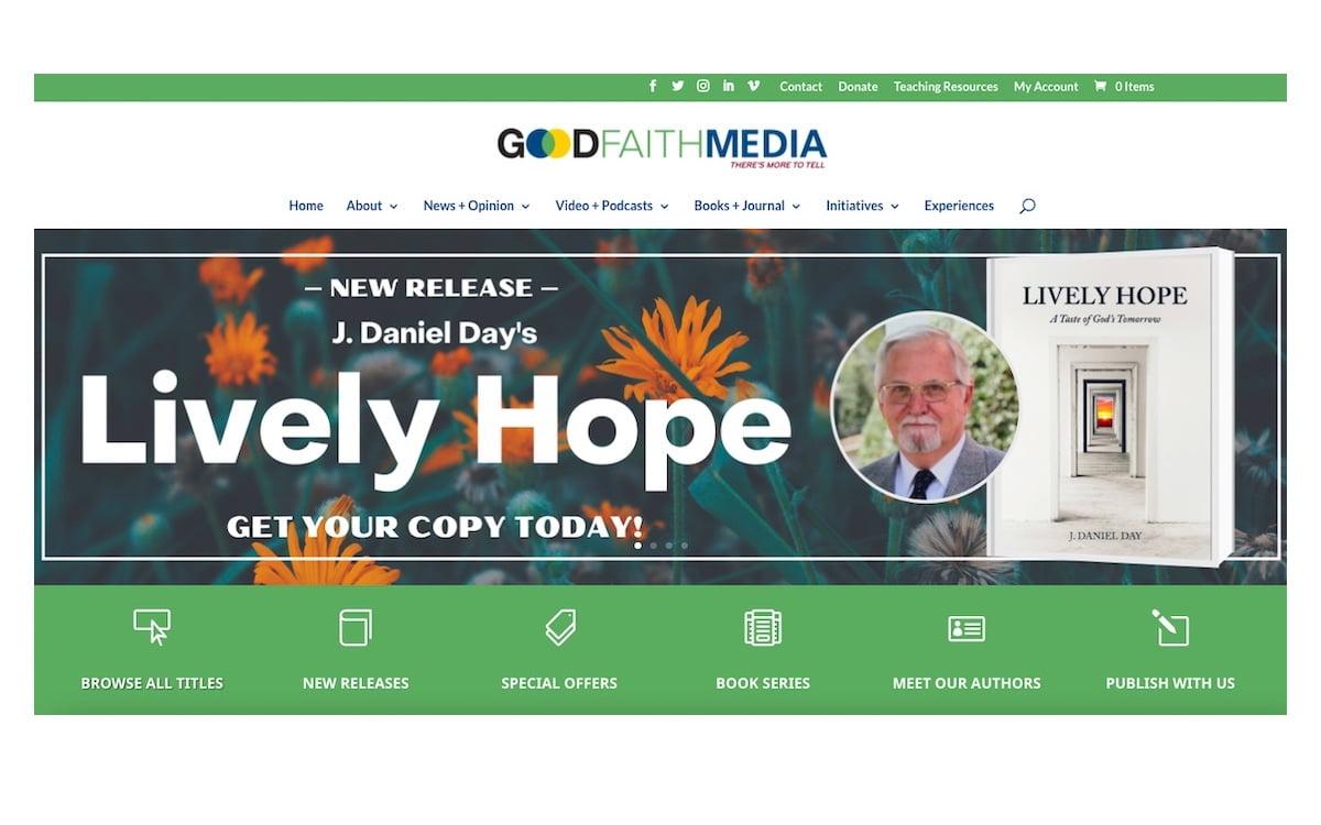 Good Faith Media Enhances User-Friendly, Online Bookstore